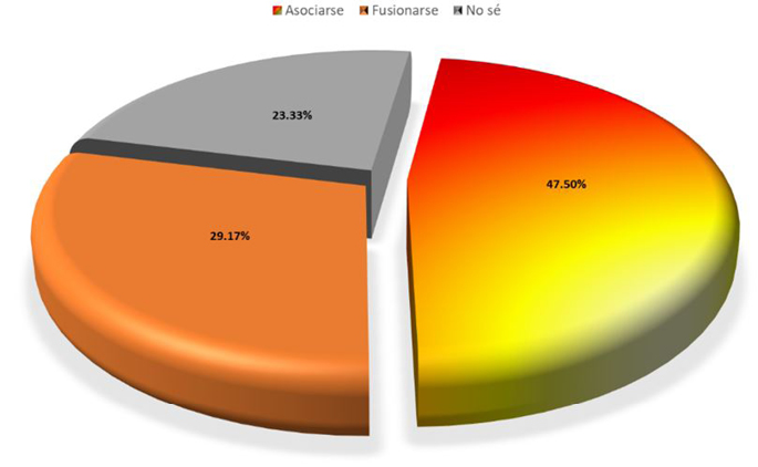 Figura 4. ¿Cuál sería la estrategia que generaría un mayor desarrollo y crecimiento  de la Sindicatura de Juan José Ríos?