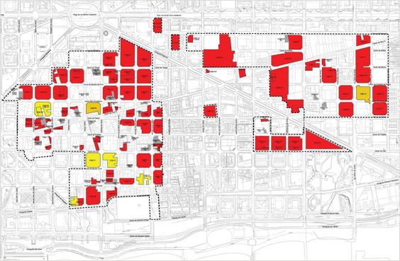Ilustración 1.Cuadro de desarrollo de transformación y gestión urbanística 22@ aprobada