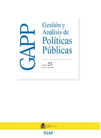 Cubierta de Gestión y Análisis de Políticas Publicas. Número 23