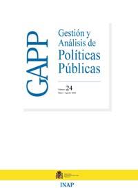 Cubierta de Gestión y Análisis de Políticas Publicas. Número 24