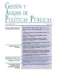 Cubierta de Gestión y Análisis de Políticas Publicas. Número 2