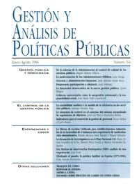 Cubierta de Gestión y Análisis de Políticas Publicas. Números 5-6