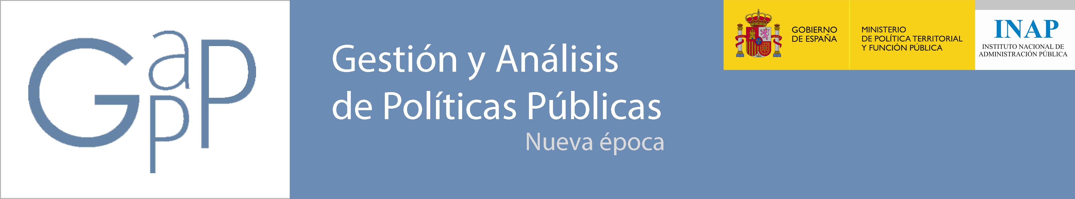 Revista Gestión y Análisis de Políticas Públicas