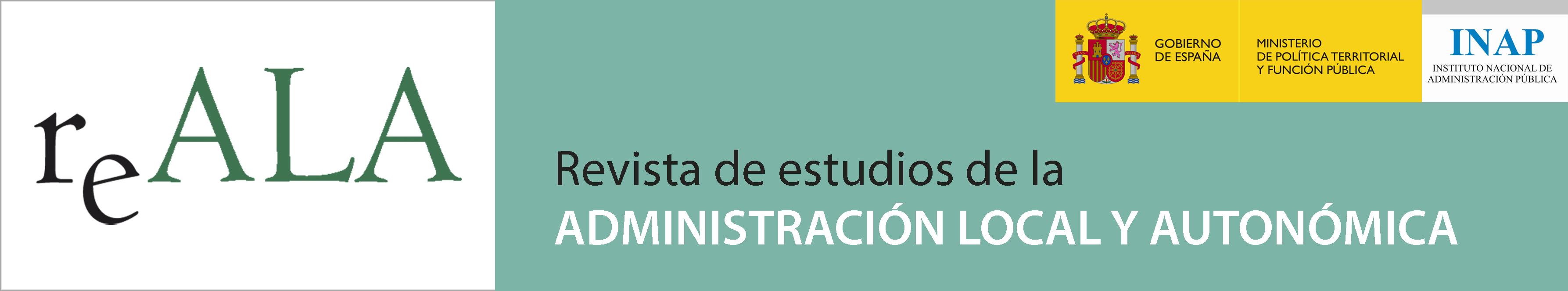 Revista de Estudios de la Administración Local y Autonómica