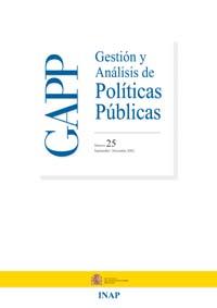 Cubierta de Gestión y Análisis de Políticas Publicas. Número 25
