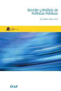 Cubierta de Gestión y Análisis de Políticas Publicas. Número 32