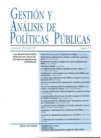 Cubierta de Gestión y Análisis de Políticas Publicas. Números 7-8