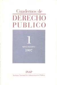 Ver Cuadernos de Derecho Público. 1997-2007. Número 1
