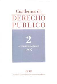 Ver Cuadernos de Derecho Público. 1997-2007. Número 2