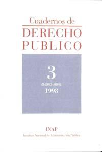 Ver Cuadernos de Derecho Público. 1997-2007. Número 3