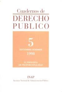 Ver Cuadernos de Derecho Público. 1997-2007. Número 5