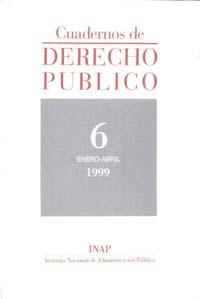 Ver Cuadernos de Derecho Público. 1997-2007. Número 6