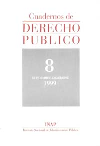 Ver Cuadernos de Derecho Público. 1997-2007. Número 8