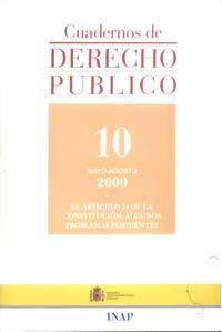 Ver Cuadernos de Derecho Público. 1997-2007. Número 10
