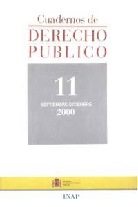 Ver Cuadernos de Derecho Público. 1997-2007. Número 11