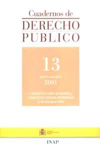 Ver Cuadernos de Derecho Público. 1997-2007. Número 13