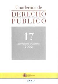 Ver Cuadernos de Derecho Público. 1997-2007. Número 17