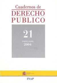 Ver Cuadernos de Derecho Público. 1997-2007. Número 21