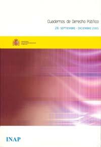 Ver Cuadernos de Derecho Público. 1997-2007. Número 26