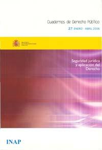 Ver Cuadernos de Derecho Público. 1997-2007. Número 27